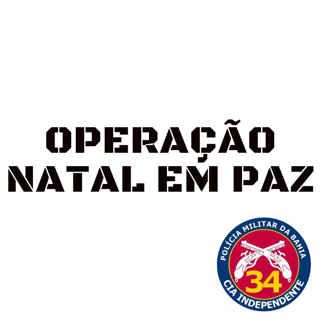 34ª Companhia dará início a Operação Natal em Paz em Brumado