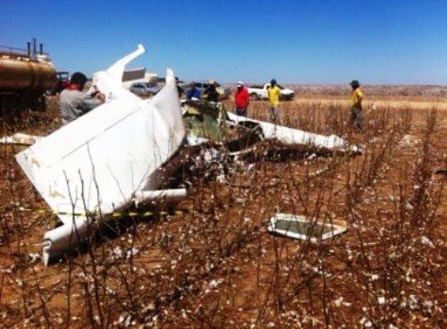 Barreiras: É grave o estado de saúde do fotógrafo e da pilota após queda de avião
