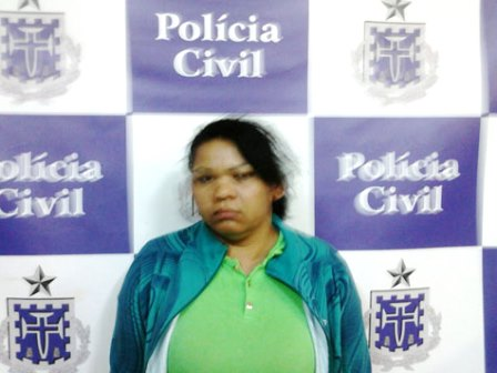 Policia prende mulher por tentativa de homicídio