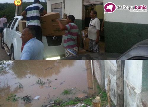 Nível da Água do Rio do Antônio Sobe, moradores e comerciantes já começam evacuar das suas margens