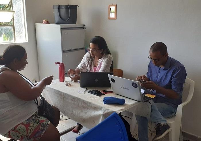 Mutirão é realizado na sede do Conselho Tutelar em Aracatu