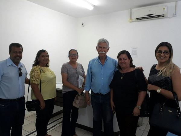 Prefeita Lêda Matias participou da reunião que definiu Brumado como sede da Policlínica Regional de Saúde
