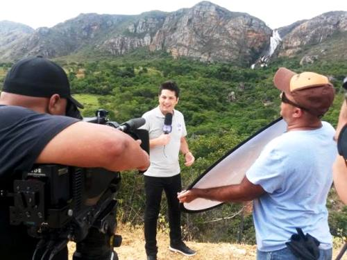 PROGRAMA MELHOR DO BRASIL DA REDE RECORD GRAVA QUADRO ESPECIAL COM UM LIVRAMENTENSE