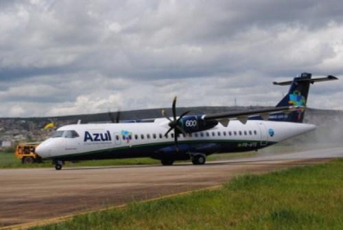 Avião da Azul apresenta pane e retorna ao Aeroporto Pedro Otacílio Figueiredo
