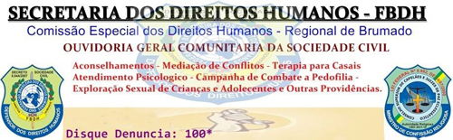 Brumado: Secretaria dos Direitos Humanos informa os horários e dias de Atendimento