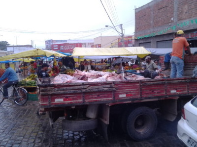 Poções: 2,5 toneladas de carne são apreendidas