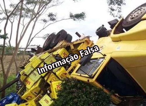 Notícia falsa sobre acidente com vítima fatal deixa população indignada