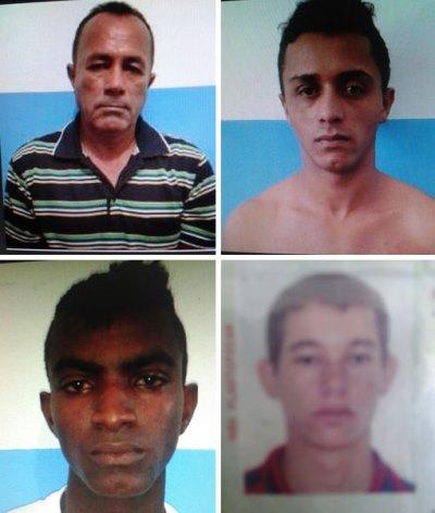 Quatro detentos fogem da delegacia nesta madrugada