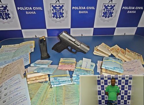 Suspeito de comercializar armas é preso em Conquista