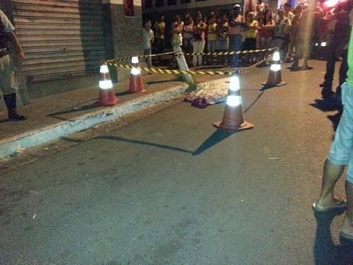 Homem é assassinado na Avenida Coronel Santos no Bairro São Félix