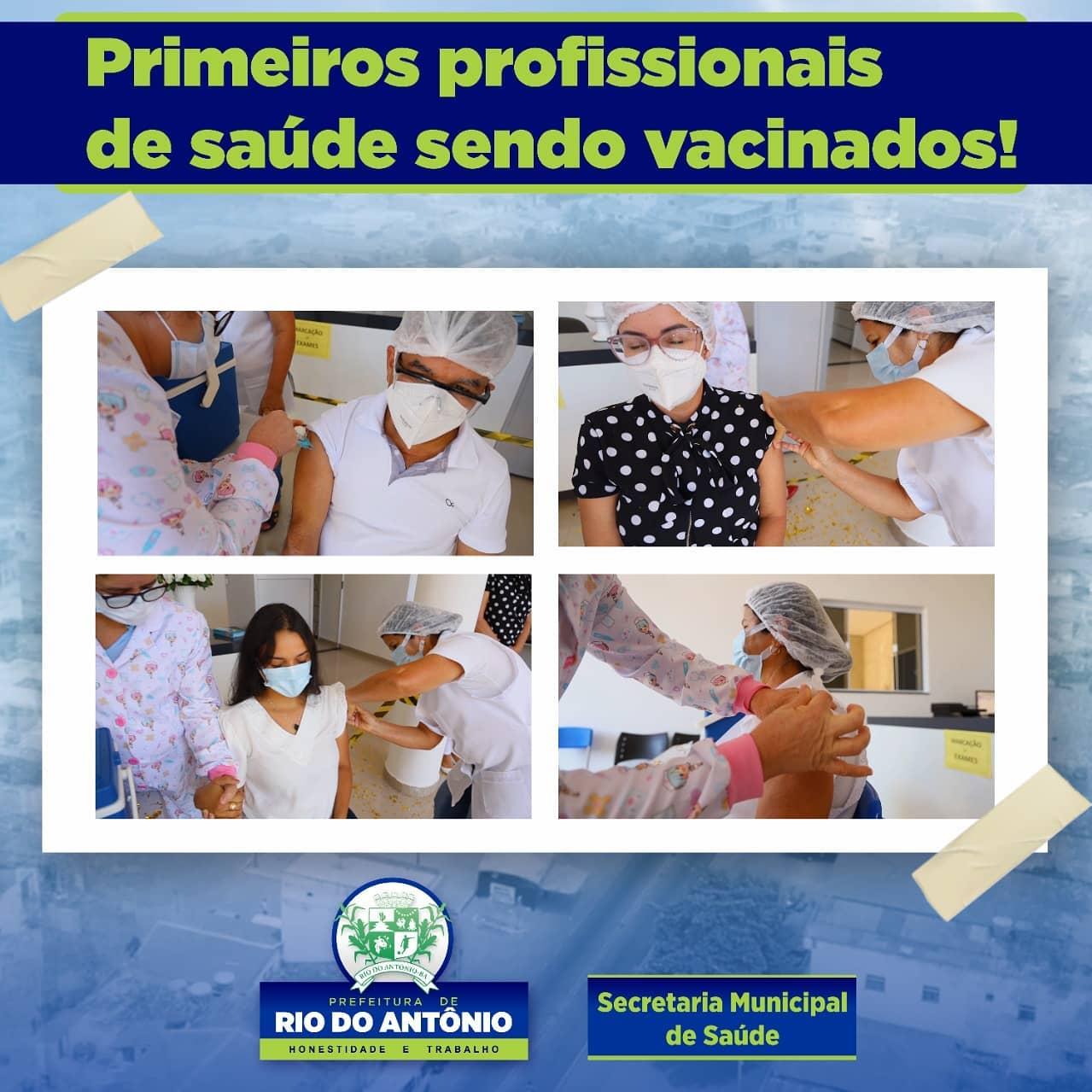 Rio do Antônio realiza primeira etapa da vacinação contra Covid-19