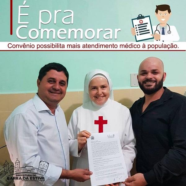 Prefeitura de Barra da Estiva firma parceria com hospital Suzy Zanfretta para realização de Cirurgias Eletivas