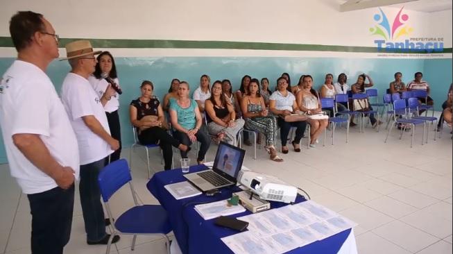 Profissionais da Educação de Tanhaçu passam por Formação Continuada; veja o vídeo