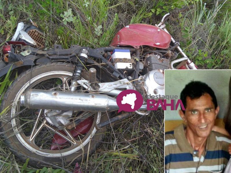 Colisão entre Caminhonete e moto deixa uma vítima fatal em Aracatu