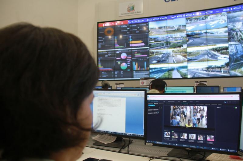 Criminoso é reconhecido por câmeras da SSP