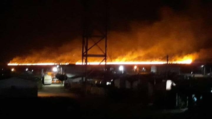 Incêndio atinge 100 hectares de fazenda no distrito de Cascavel em Ibicoara