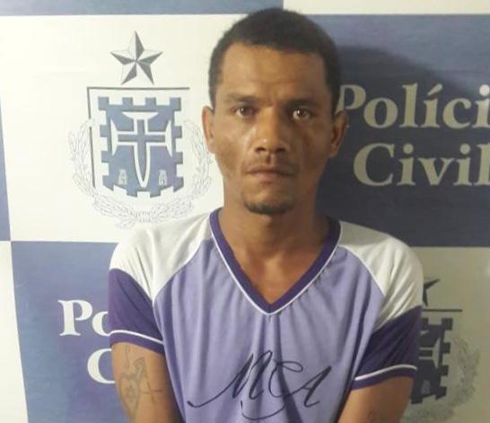 Gandu: Polícia Civil prende homem acusado de estuprar enteada desde os 10 anos
