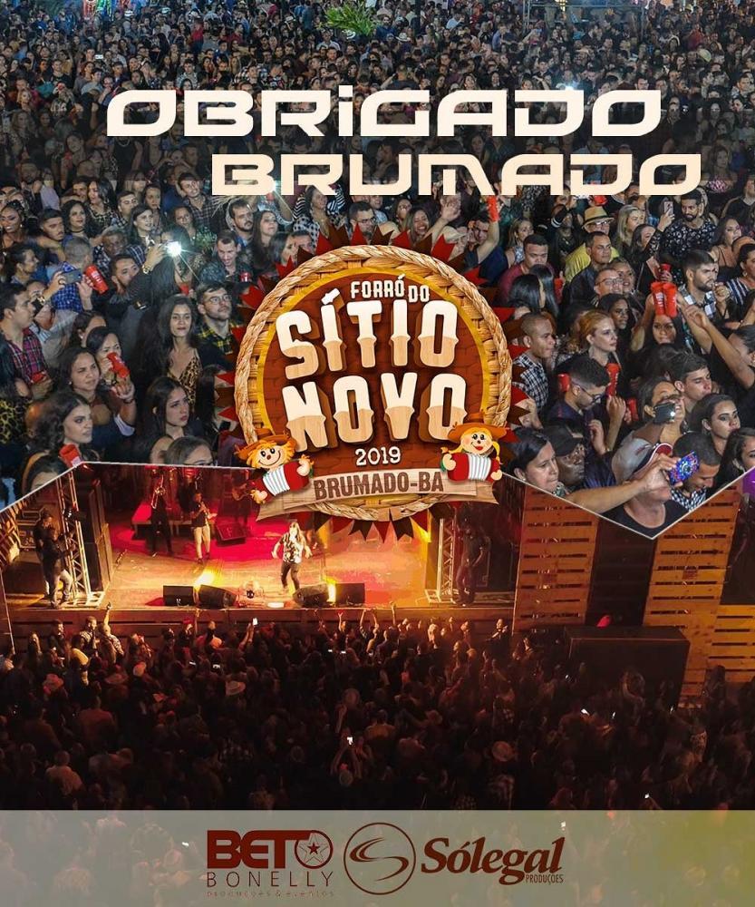 Forró do Sítio Novo 2019: Com excelente estrutura, festa é realizada em Brumado e, se consolida mais uma vez, como a melhor festa da região