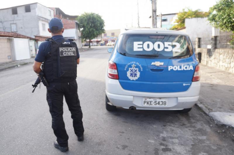 Operação nacional da Polícia Civil termina com 91 presos por crimes graves na Bahia