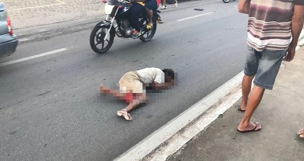 Atropelamento com vítima fatal é registrado no fim de semana em Brumado: Motorista tentou fugir, mas não conseguiu