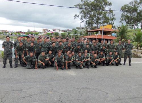 TIRO DE GUERRA 06-024 (Brumado/BA) visita o TIRO DE GUERRA 06-023 (Itapetinga/BA)
