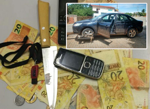 Menor que sequestrou e assaltou mulher em Brumado é detido pela polícia
