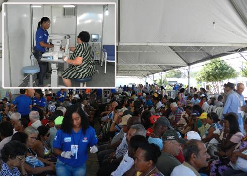 Primeiro dia do Saúde em Movimento atrai centenas de pessoas
