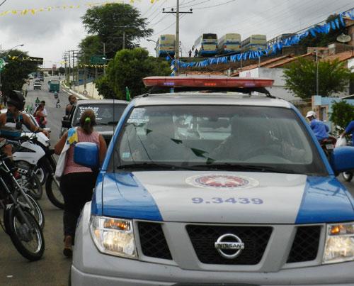 Perseguição policial em plena luz do dia no centro da cidade