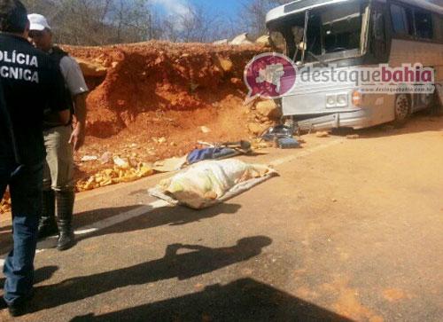 Um morto e dezenas de feridos em acidente com ônibus entre Rio de Contas e Jussiape
