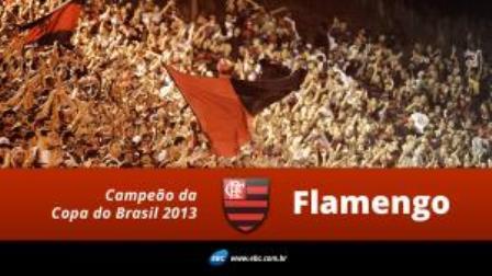 Flamengo ganha de 2 x 0 do Atlético-PR e é tricampeão da Copa do Brasil