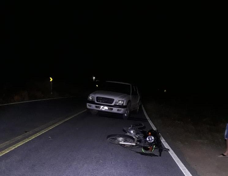 Homem com sinais de embriaguez provoca acidente entre Guajeru e Malhada de Pedras