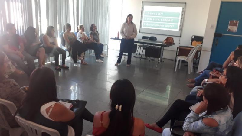 Centro Judiciário de Solução Consensual de Conflitos Realiza palestra para enfermeiros do município