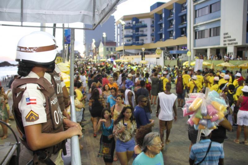 Carnaval contará com câmeras de reconhecimento facial e 26 mil policiais