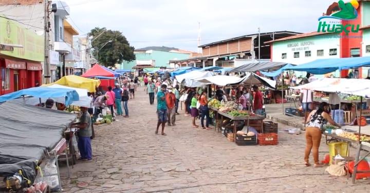 Ituaçu: Prefeitura flexibiliza reabertura da feira livre