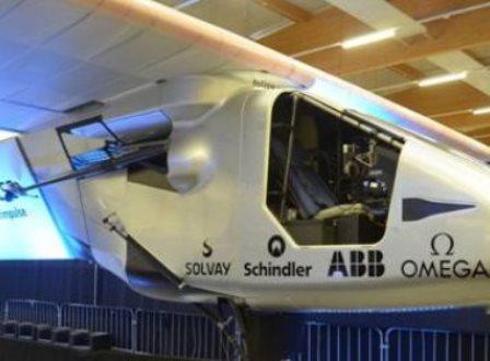 Avião movido a energia solar dará volta ao mundo