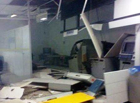 Candeal: Bandidos destroem agência do Banco do Brasil