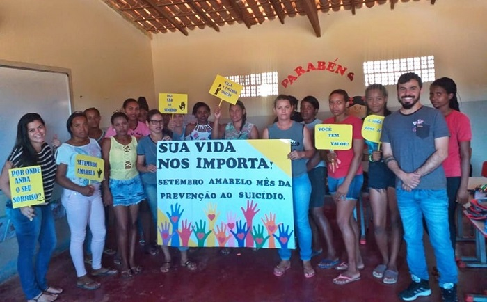 Cras de Aracatu realiza palestras na Sede e na Zona Rural que chamam atenção para valorização da vida
