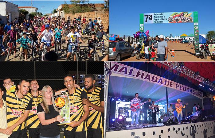 Prefeitura de Malhada de Pedras superou expectativas do público local e regional com os festejos de aniversário do município