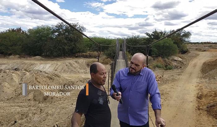 Prefeitura de Dom Basílio investe em construção de Passagem Molhada e pavimentação asfáltica dando acesso ao Bairro Santa Luzia e Ba-148; veja o vídeo