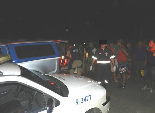 Policial troca tiro com assaltantes no centro da cidade e um suspeito é preso