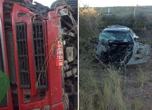 Imprudência causa grave acidente na BA - 262, entre Vila Maria e Aracatú