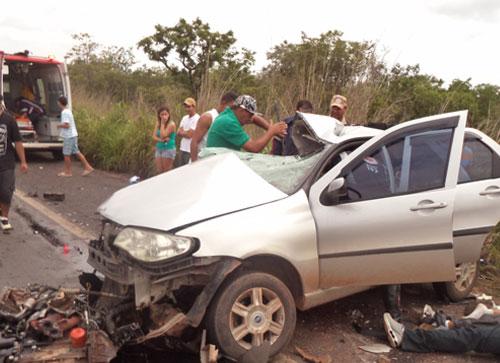 Fim de Semana com grave acidente e mortes na BR 020