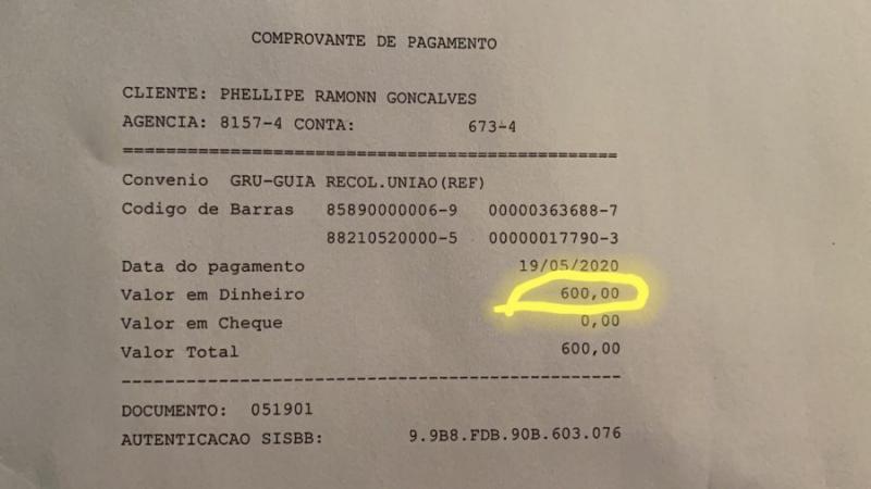 Em nota, pré-candidato a prefeito de Ituaçu que recebeu o Auxílio Emergencial diz que devolveu o benefício