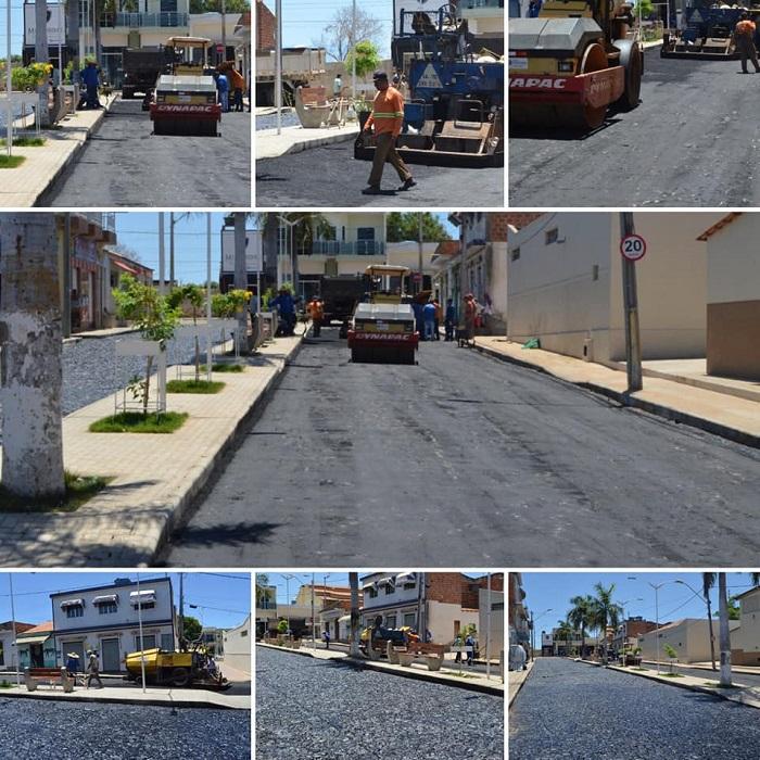 Prefeito de Guajeru realiza mais obras na cidade
