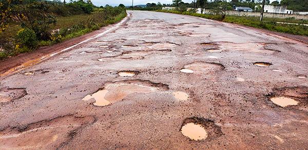 Buraqueira: Situação de vários trechos da Ba-142 piora após as últimas chuvas