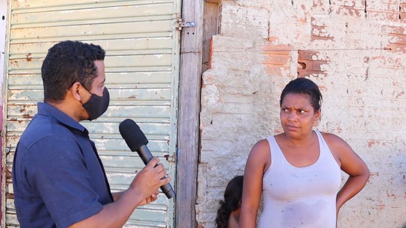 Famílias carentes receberam leite estragado entregue pela Prefeitura de Aracatu, veja o vídeo com a reportagem