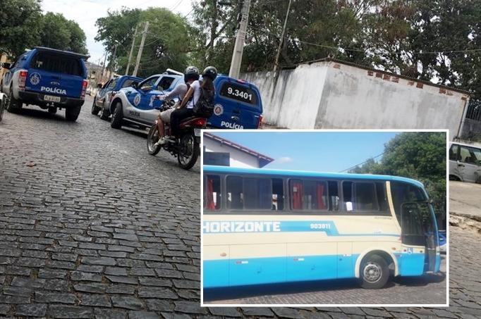 Homem sofre tentativa de homicídio dentro de ônibus da Novo Horizonte em Brumado