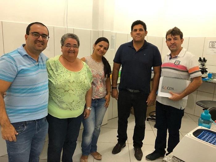 Prefeitura de Tanhaçu recebe coordenadores da Vigilância Epidemiológica da Base de Brumado