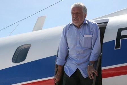 Avião do Governador da Bahia faz pouso Forçado