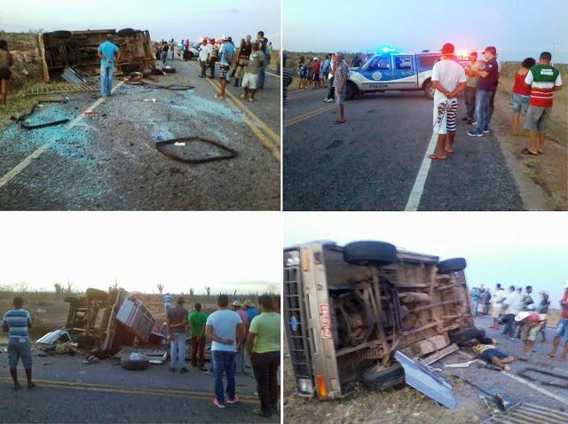 Seis pessoas morrem em acidente na BA- 414 os ocupantes do veículo voltavam de um funeral